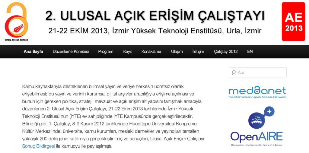 www.acikerisim.org